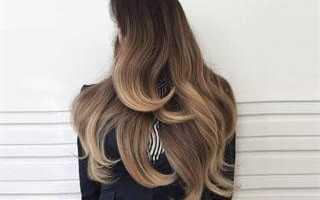 Сколько держится балаяж на волосах