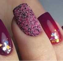 Новогодний дизайн ногтей на нарощенные ногти